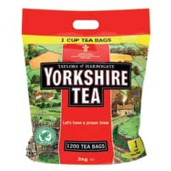 Yorkshire Tea Bags One Cup 1200 Pieces