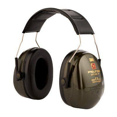 3M Ear Defenders H520A Foam, Plastic Black