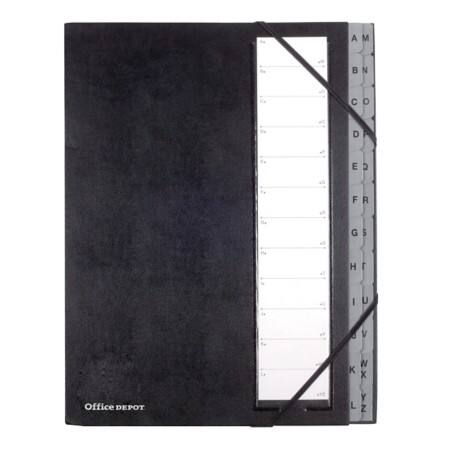 Office Depot 24 Part a Z Concertina Spine, Hard Cover