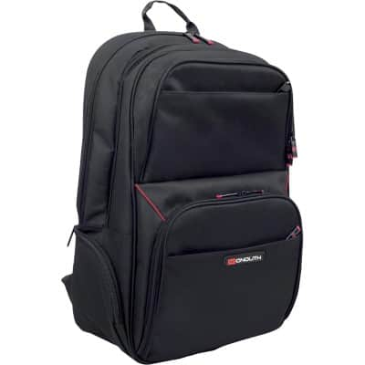 Monolith Laptop Backpack Motion II  15.6 Inch 34.5 x 17 x 51 cm Black