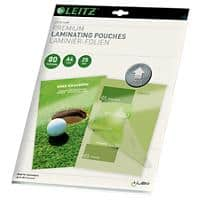 Leitz Laminating Pouches Glossy 2 x 80 (160 Micron) A4 Pack of 25