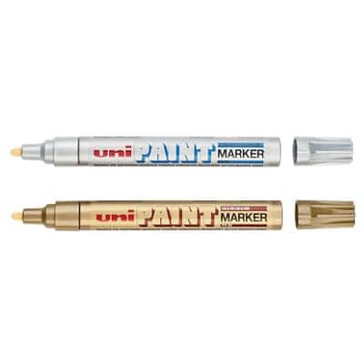 uni-ball PX-20 Paint Marker Medium Assorted Pack of 2