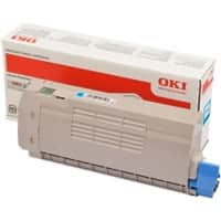 OKI 46507615 Original Toner Cartridge Cyan Cyan