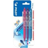 Pilot Frixion Point erasable rollerball pens - assorted - pack of 3