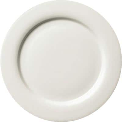 GENWARE Classic Plates Fine China 26cm White Pack of 4