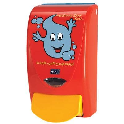 Deb Hand Soap Dispenser Proline Red 1 L