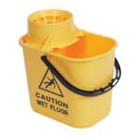 Professional Mop Bucket Yellow 15 L