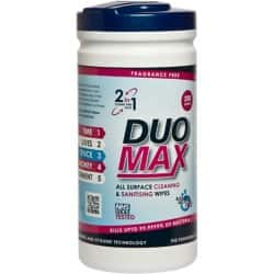 Duo Max Cleaning Wipes fresh