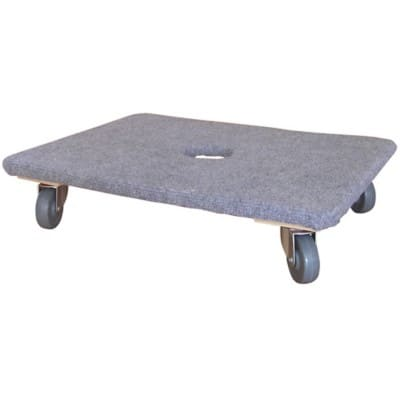 Slingsby Mounted Plywood Dolly Covered With Carpet 600 x 450 mm