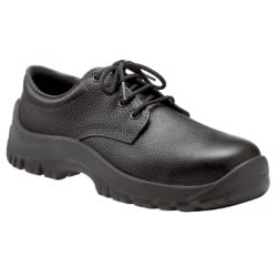 Briggs Safety Shoes leather size Black