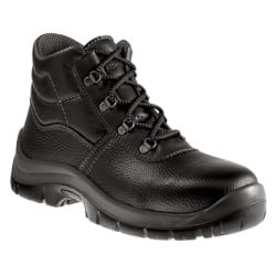 Alexandra Safety Boots leather size 8 Black