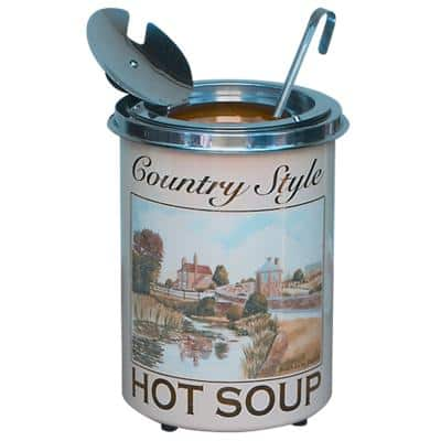 Soupercan Soup Warmer Stainless Steel SCR423 5.1L Assorted