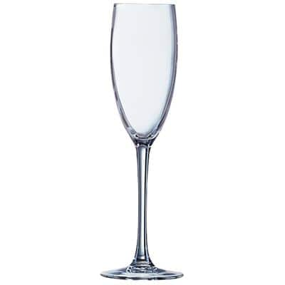 Arc International Flute Glasses Kwarx 160ml Transparent Pack of 6