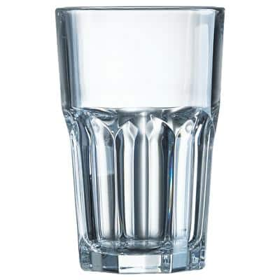 Arc International Hiball Tumbler Glass 280ml Transparent Pack of 48