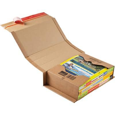 ColomPac Universal Postal Boxes Brown 22.5 x 10 x 35.3 cm 20 Pieces