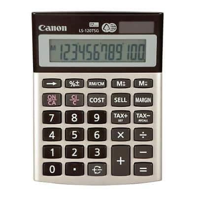 Canon Desktop Calculator LS-120TSG  Gold