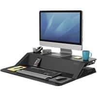Fellowes Sit Stand Workstation Lotus Black
