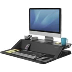 Fellowes Sit-Stand Workstation Lotus Black