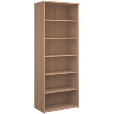 Dams International Bookcase with 5 Shelves R2140B 800 x 470 x 2140 mm Beech