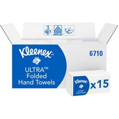 Kimberly-Clark Professional  Hand Towels 6771 3 Ply Z-fold White 30 Pieces of 96 Sheets