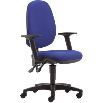Pledge Ergonomic Office Chair Curacao Permanent Contact Blue