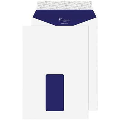 Blake Premium Pure Super White Wove C5 229x162mm Peel and Seel Window Envelope 120gsm Pack 500