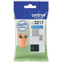 Brother LC3217C Original Ink Cartridge Cyan