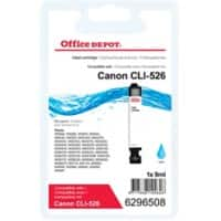 Office Depot Compatible Canon CLI-526C Ink Cartridge Cyan