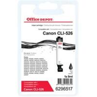 Office Depot Compatible Canon CLI-526BK Ink Cartridge Black