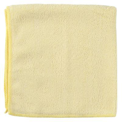 Vileda Cleaning Microfiber Cloths MicroTuff Lite Yellow 40 x 35cm Pack of 10