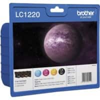 Brother LC-1220VALBP Original Black & 3 Colours Ink Cartridge