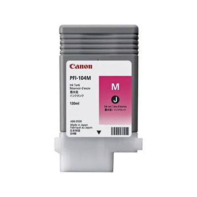 Canon PFI-104M Original Magenta Ink Cartridge 3631B001