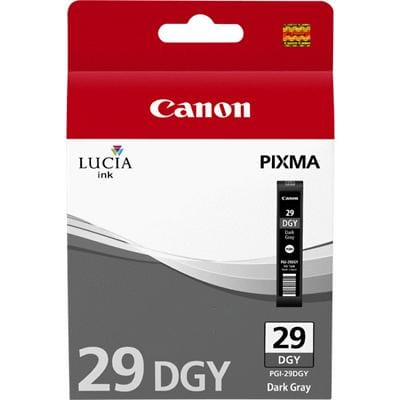 Canon PGI-29DGY Original Ink Cartridge Dark Grey