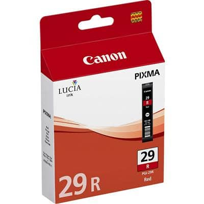 Canon PGI-29R Original Ink Cartridge Red