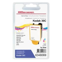 Office Depot 30XL Compatible Ink Cartridge 3 Colours