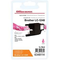 Office Depot Compatible Brother LC1240M Ink Cartridge Magenta