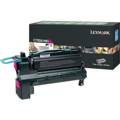 Lexmark C792A1MG Original Toner Cartridge Magenta