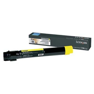 Lexmark X950X2YG Original Toner Cartridge Yellow