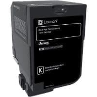 Lexmark 74C2HKE Original Toner Cartridge Black