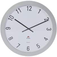 Alba Analog Wall Clock HORGIANT 60 x 5cm Silver Grey