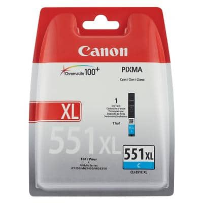Canon CLI-551CXL Original Ink Cartridge Cyan