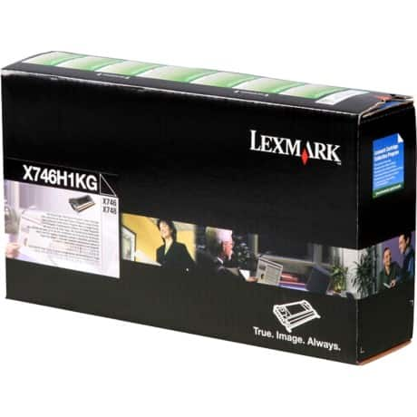 Lexmark X746H1KG Original Toner Cartridge Black
