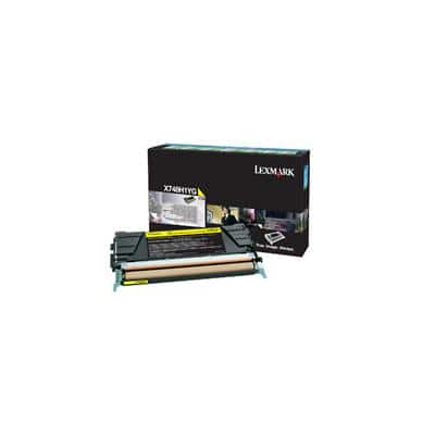 Lexmark X748H1YG Original Toner Cartridge Yellow