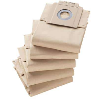 Kärcher Filter Paper Vacuum Bags Brown 95332110 Pack of 10