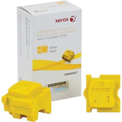 Xerox 108R00997 Original Solid Ink Stick Yellow Pack of 2