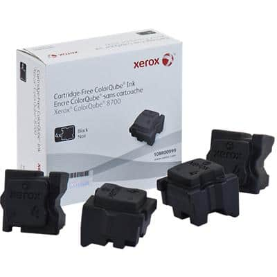 Xerox 108R00999 Original Solid Ink Stick Black Pack of 4