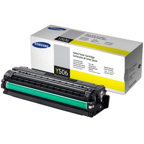 Samsung CLT-Y506S Original Toner Cartridge Yellow