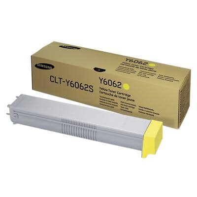 Samsung CLT-Y6062S Original Yellow Toner Cartridge CLT-Y6062S/ELS