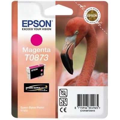 Epson T0873 Original Ink Cartridge C13T08734010 Magenta
