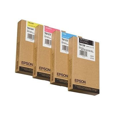 Epson T6114 Original Ink Cartridge C13T611400 Yellow